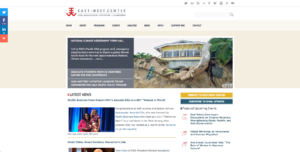 East West Center homepage