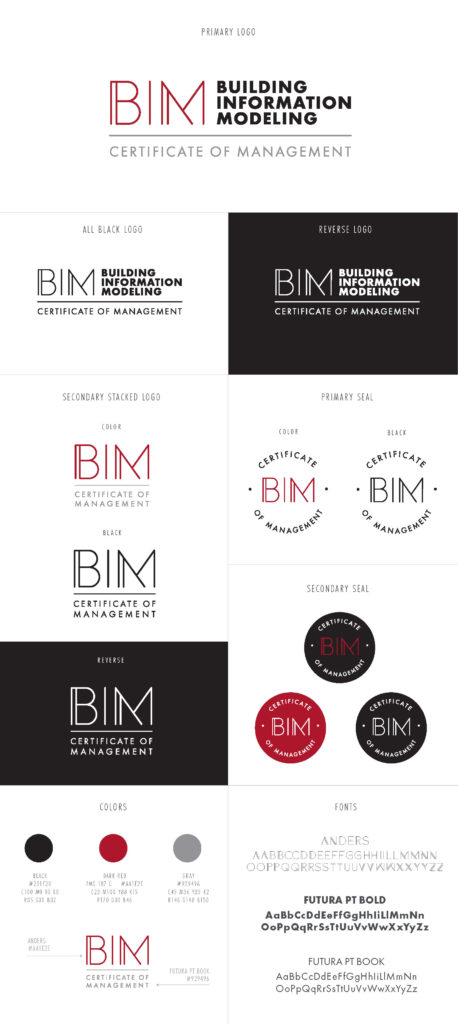 Building Information Modeling logo designs